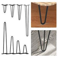4x Hairpin Legs Haarnadelbeine Tischkufen Tischgestell Esstisch 20-71 Tischbeine