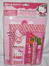 Hello Kitty School Stationary Set  11pc Value Pack Folder Note Pencils fast ship