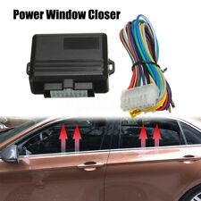 Universal Auto Power Window Roll Up Closer Power Module Kit For 4 Door Car 12V