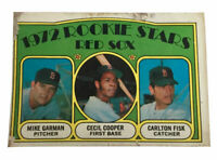 1972 Topps #79 Carlton Fisk RC Boston Red Sox