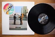 PINK FLOYD Wish You Were Here 1975 OZ PRESS VINYL LP EX COND PROG PSYCH ROCK
