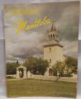 Vintage Manitoba Canada Travel Booklet Brochure History