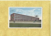 MA East Springfield 1917 antique postcard WESTINGHOUSE FACTORY MASS OLD CARS