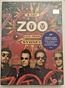 U2 - ZOO TV LIVE FROM SIDNEY 2 DVD DELUXE LIMITED EDITION - ED. ARGENTINA