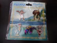 Disney Trading Pins 127305 Moana Booster Set