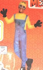 GIRLS BOYS 4-6 MINIONS DAVE HALLOWEEN COSTUME JUMPER OUTFIT