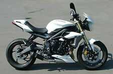 Triumph Street Triple 13-15 SP Engineering Carbon Fibre Stubby Moto GP Exhaust