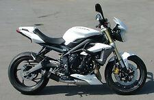 Triumph Street Triple 13-15 SP Engineering Carbon Fibre Stubby Moto GP Exhaust