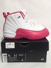 Brand New Nike Jordan 12 Retro GP Vivid Pink XII 510816-109 1Y