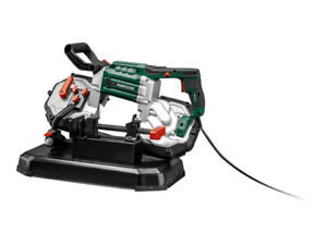 Parkside Metal Cutting Bandsaw Powerful 1,100W motor with adjustable band speed
