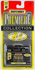 Matchbox World Class Series 3 Premiere Collection '57 Chevy Black New