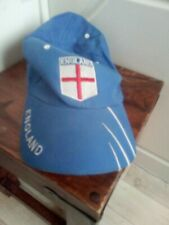ENGLAND  Baseball Cap blue worn clothing costume prop collectable small