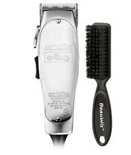 Andis Master Adjustable Blade Clipper 01557 with a BeauWis Blade Brush