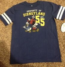 Disneyland Mickey Mouse Goofy Donald T Shirt 55 Sz 14/16 Fab 5 XL Extra Large