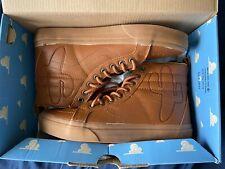 Vans Sk8 Hi Toy Story Woody Boot Land Shoes Brown Disney ANDY Men RARE NEW  7.5
