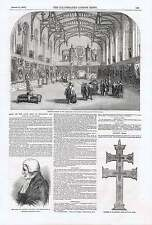 1850 Late King Of Holland The Hague Picture Sale Ancient Cross Found Cork Railwa