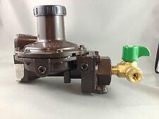 450 MJ High Capacity  2 Stage LPG REGO Regulator, Change Over Tap+Flex Hose