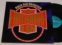 IRON MAIDEN-B SABBATH-DEEP PURPLE..LP-ROCK AID ARMENIA
