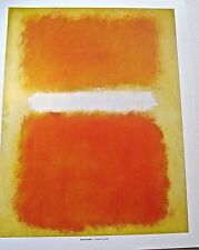 Mark Rothko Poster after 1968 Painting 14x11 Unsigned Offset Lithograph