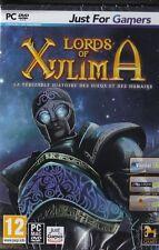 JEU PC LORDS OF XULIMA HISTOIRE DIEUX HUMAINS AVENTURE WINDOWS 8/7/VISTA/XP