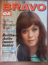 BRAVO 37 - 4.9. 1967 (2) Marie Versini Belmondo Franc.Hardy Maigret Udo Jürgens