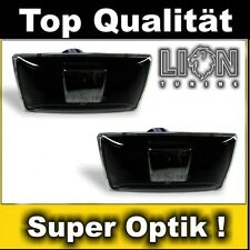 Klarglas Seitenblinker Opel Corsa D, Astra H, J, Insignia, Zafira B schwarz