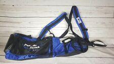 New Sun Mountain Sunday Golf Bag W/ X-Strap Mens Carry Bag Royal/Black