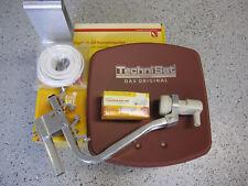 TechniSat Digidish33 mit V/H - LNB (single) Neu OVP ziegelrot