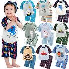 Vaenait Baby Kids Boys Clothes Short Pajama Outfit set