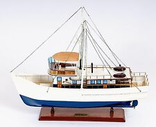 Dickie Walker Marine Clothing Co Model Wood Ship