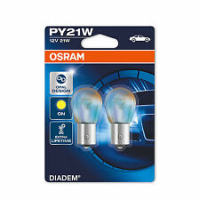 2x Chrysler PT Cruiser Genuine Osram Diadem Amber Front Indicator Light Bulbs