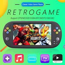 7'' Portable 8GB Handheld Game Console Classic Video Game Players for Neogeo