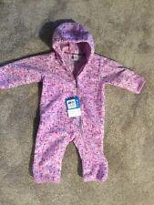 Infant girls Columbia brand pram snowsuit  fleece Size 6 months (6-12 months) N