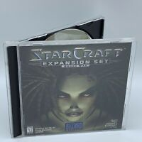 Star Craft Expansion Set Brood War Cd-Rom PC Video Game Blizzard Entertainment