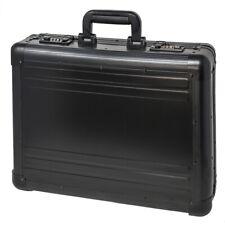 XL Aktenkoffer Aluminium Schwarz Aluaktenkoffer Attache-Koffer Zahlenschloss