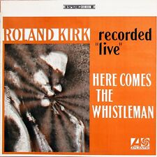 ROLAND KIRK Here Comes The Whistleman ATLANTIC RECORDS Sealed Vinyl Record LP