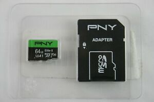 PNY Elite-X 64GB Micro SD Card