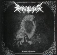 Temple Nightside - Prophecies of Malevolence CD 2011 black metal Australia