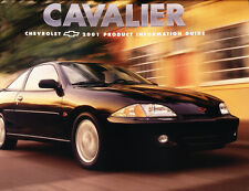 2001 Chevrolet Cavalier and Z24 18-page Product Information Car Guide Brochure