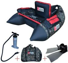 FISHING FLOAT TUBE NRV CAMO PACK With Two Backpack-style Carry Straps