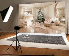 Christmas Tree Decor Luxury Room 7x5ft Photography Backgrounds Backdrops Props