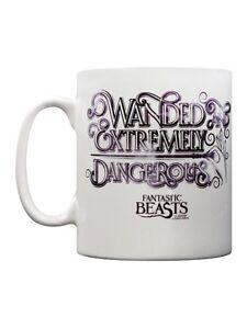 Mug/Ceramic Cup ~ Tea/Coffee/Beverage ~ FANTASTIC BEASTS ~ 'WANDED'