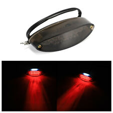 Motorcycle Dirt Bike LED Tail Light Motorbike Rear Brake Indicator Lamp Black