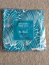 kate spade florence broadhurst Adriatic blue fingers summer inflatable pool ring