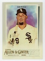 2020 Topps Allen & Ginter #192 JOSE ABREU Chicago White Sox BASE BASEBALL CARD