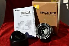 NIKON AF-S 50mm f/1,8 G come nuovo / as new