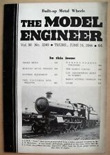 Model Engineer Vol 90 1944 #2249 Great Condition - images are photos of mag