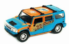 NFL H2 Hummer Miami Dolphins 1:43 scale-Limited Ed (only 240) -#'d NEW in BOX