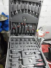 Werkzeugtrolley Werkzeugkoffer Werkzeug Set mit Ratschenkasten 186-teilig