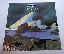 YES DRAMA 1980 VINTAGE ORIGINAL Record Store FLAT Poster 80s Trevor Horn RARE